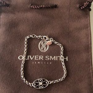 Oliver smith fine signature diamond bracelet NEW